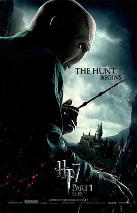 Harry Potter and the Deathly Hallows: Part I - 11 x 17 Movie Poster - Style Q