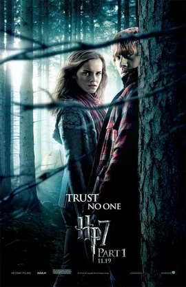 Harry Potter and the Deathly Hallows: Part I - 11 x 17 Movie Poster - Style U