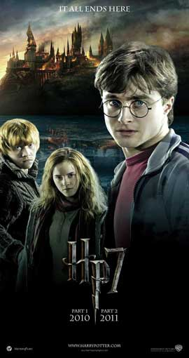 Harry Potter and the Deathly Hallows: Part I - 9 x 17 Movie Poster - Style A