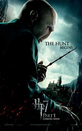 Harry Potter and the Deathly Hallows: Part I - 11 x 17 Movie Poster - UK Style E