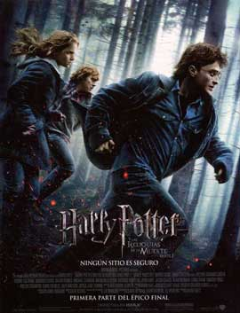 Harry Potter and the Deathly Hallows: Part I - 11 x 17 Movie Poster - Spanish Style B
