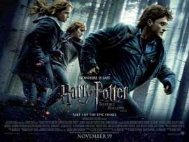 Harry Potter and the Deathly Hallows: Part I - 11 x 17 Movie Poster - UK Style J
