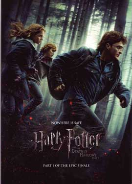 Harry Potter and the Deathly Hallows: Part I - 11 x 17 Movie Poster - UK Style K