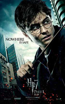 Harry Potter and the Deathly Hallows: Part I - 27 x 40 Movie Poster - Style E