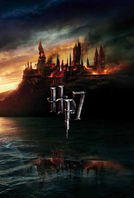 Harry Potter and the Deathly Hallows: Part I - 43 x 62 Movie Poster - Danish Style B