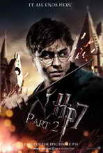 Harry Potter and the Deathly Hallows: Part II - 27 x 40 Movie Poster - Style G