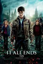 Harry Potter and the Deathly Hallows: Part II - 27 x 40 Movie Poster - Style K