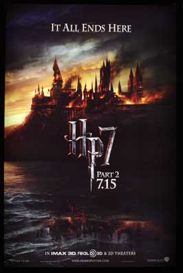 Harry Potter and the Deathly Hallows: Part II - 11 x 17 Movie Poster - Style I