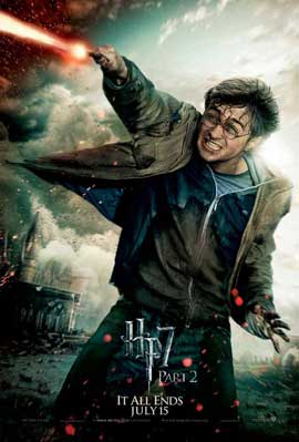 Harry Potter and the Deathly Hallows: Part II - 11 x 17 Movie Poster - Style R