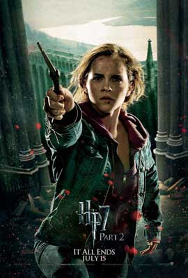 Harry Potter and the Deathly Hallows: Part II - 11 x 17 Movie Poster - Style S