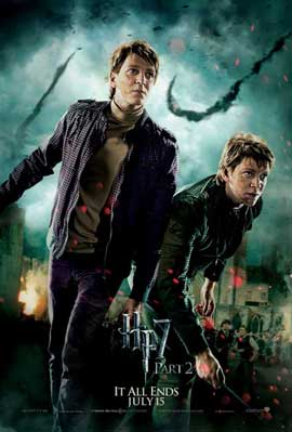 Harry Potter and the Deathly Hallows: Part II - 11 x 17 Movie Poster - Style U