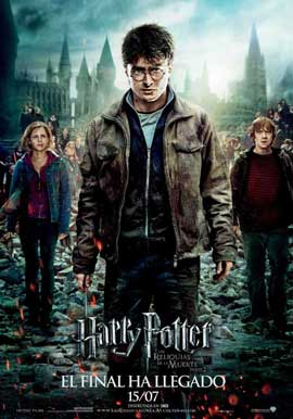 Harry Potter and the Deathly Hallows: Part II - 11 x 17 Movie Poster - Spanish Style B