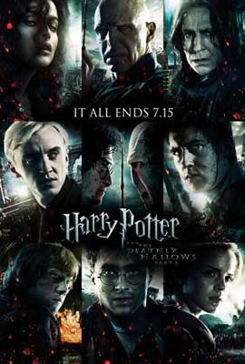 Harry Potter and the Deathly Hallows: Part II - 11 x 17 Movie Poster - Style Z