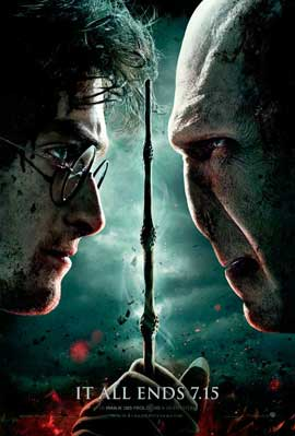 Harry Potter and the Deathly Hallows: Part II - 27 x 40 Movie Poster - Style Q