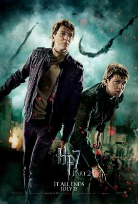 Harry Potter and the Deathly Hallows: Part II - 27 x 40 Movie Poster - Style U