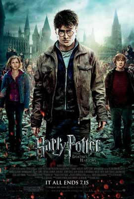 Harry Potter and the Deathly Hallows: Part II - 27 x 40 Movie Poster - Style V