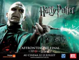 Harry Potter and the Deathly Hallows: Part II - 11 x 17 Movie Poster - French Style H