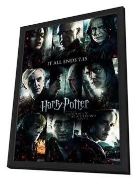 Harry Potter and the Deathly Hallows: Part II - 11 x 17 Movie Poster - Style Z - in Deluxe Wood Frame
