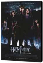 Harry Potter and the Goblet of Fire - 11 x 17 Movie Poster - Style B - Museum Wrapped Canvas
