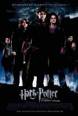Harry Potter and the Goblet of Fire - 27 x 40 Movie Poster - Style B