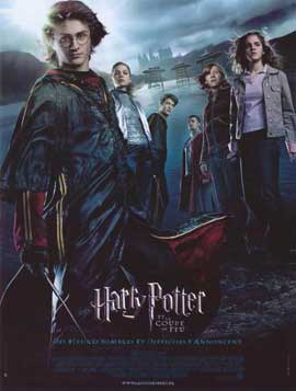 Harry Potter and the Goblet of Fire - 11 x 17 Movie Poster - French Style A