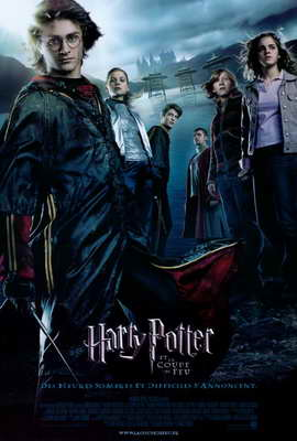 Harry Potter and the Goblet of Fire - 27 x 40 Movie Poster - French Style A