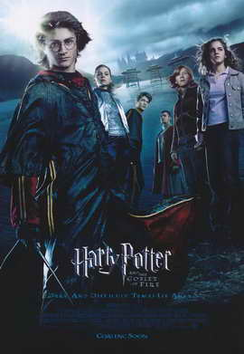 Harry Potter and the Goblet of Fire - 11 x 17 Movie Poster - Style U