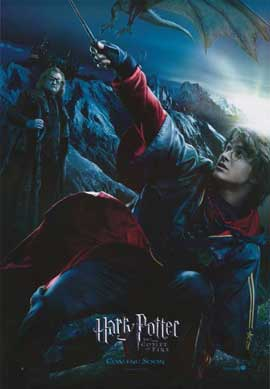 Harry Potter and the Goblet of Fire - 11 x 17 Movie Poster - Style W