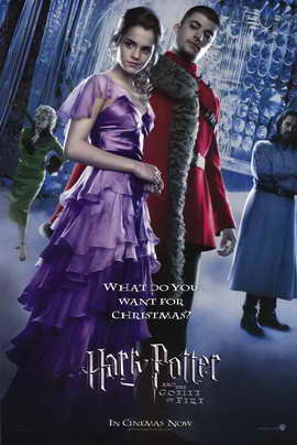 Harry Potter and the Goblet of Fire - 11 x 17 Movie Poster - Style AB