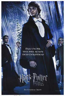 Harry Potter and the Goblet of Fire - 27 x 40 Movie Poster - Style F