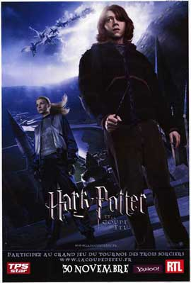 Harry Potter and the Goblet of Fire - 11 x 17 Movie Poster - French Style B
