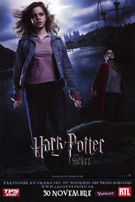 Harry Potter and the Goblet of Fire - 11 x 17 Movie Poster - French Style C