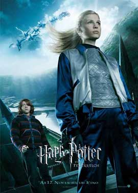 Harry Potter and the Goblet of Fire - 11 x 17 Movie Poster - German Style A