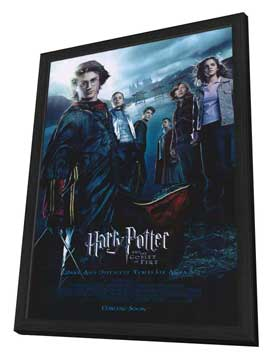 Harry Potter and the Goblet of Fire - 11 x 17 Movie Poster - Style U - in Deluxe Wood Frame
