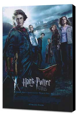 Harry Potter and the Goblet of Fire - 11 x 17 Movie Poster - Style U - Museum Wrapped Canvas