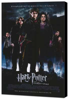 Harry Potter and the Goblet of Fire - 27 x 40 Movie Poster - Style B - Museum Wrapped Canvas