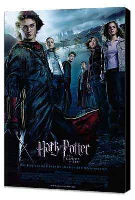 Harry Potter and the Goblet of Fire - 27 x 40 Movie Poster - French Style A - Museum Wrapped Canvas