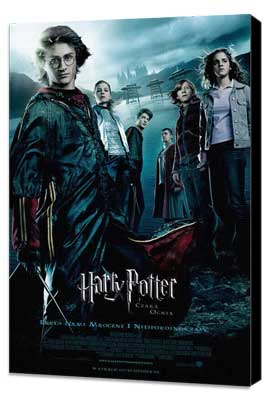 Harry Potter and the Goblet of Fire - 27 x 40 Movie Poster - Polish Style A - Museum Wrapped Canvas