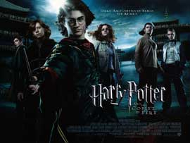 Harry Potter and the Goblet of Fire - DS British Quad 30 x 40 - Style A