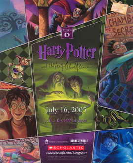 Harry Potter and the Half-Blood Prince - 11 x 17 Movie Poster - Style A