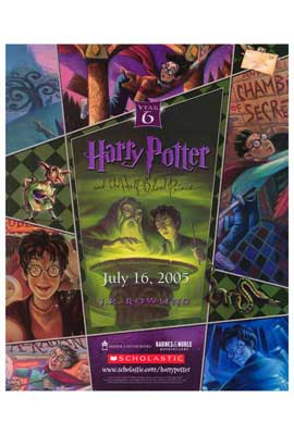 Harry Potter and the Half-Blood Prince - 27 x 40 Movie Poster - Style A