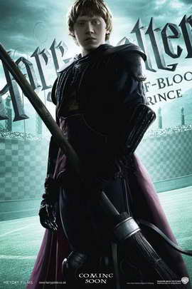 Harry Potter and the Half-Blood Prince - 11 x 17 Movie Poster - Style H
