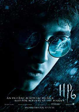 Harry Potter and the Half-Blood Prince - 11 x 17 Movie Poster - Swedish Style A