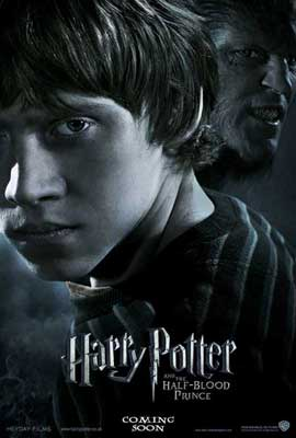 Harry Potter and the Half-Blood Prince - 11 x 17 Movie Poster - UK Style B