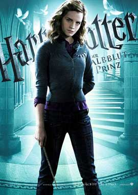 Harry Potter and the Half-Blood Prince - 11 x 17 Movie Poster - German Style A