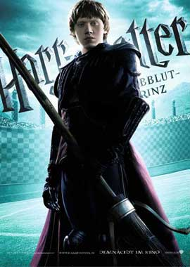Harry Potter and the Half-Blood Prince - 11 x 17 Movie Poster - German Style B
