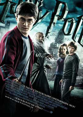 Harry Potter and the Half-Blood Prince - 11 x 17 Movie Poster - German Style D
