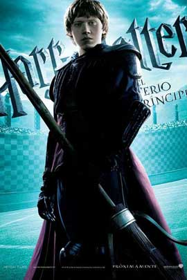 Harry Potter and the Half-Blood Prince - 11 x 17 Movie Poster - Spanish Style F