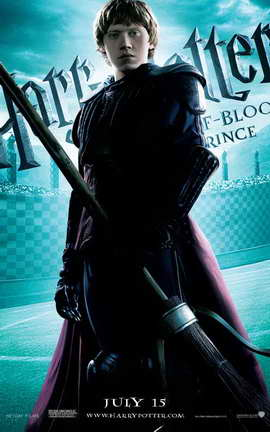 Harry Potter and the Half-Blood Prince - 27 x 40 Movie Poster - Style E