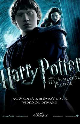 Harry Potter and the Half-Blood Prince - 11 x 17 Movie Poster - UK Style K